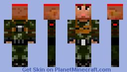 BF2 Russian Medic Minecraft Skin