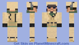 Battlefield 3 Assault Class - US Minecraft Skin