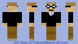 Bill Gates Minecraft Skin