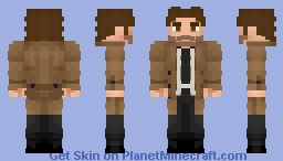Bigby Wolf (Fables) Minecraft Skin