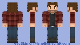 Bigby Wolf (Werewolves Of The Heartland) Minecraft Skin