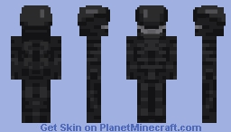 Big Chap | The Alien Xenomorph Minecraft Skin