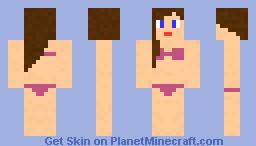 Bikini Babe Minecraft Skin