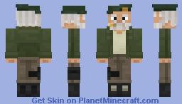 Left 4 Dead: Bill Minecraft Skin