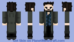 Well, well, if it ain't the invisible [censored]! ~ Billy Butcher 🥃 Minecraft Skin