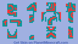 Binary Boy Katchup Minecraft Skin