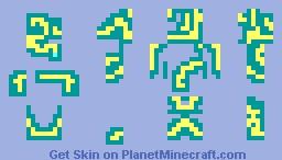 Binary Boy Thunder Minecraft Skin