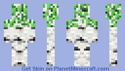 Birch Tree Spirit Minecraft Skin