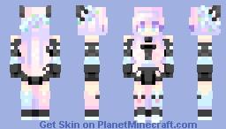 black cat | skintober day 7 Minecraft Skin