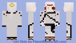 Black Clover Patri (half-dark elf) Minecraft Skin