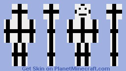 Un-Random Post Of The Black Cross Minecraft Skin