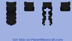 Black Hair - Female Minecraft Skin