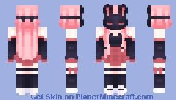 🐇 Black Rabbit 🐇 Minecraft Skin