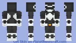 Black Ranger - Power Rangers Minecraft Skin