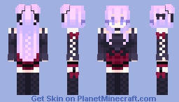 💟 Black Rose 💟 Minecraft Skin