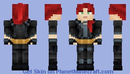 Black Widow - 2020(or maybe 2021 with the delays?) Minecraft Skin