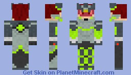 [Requested] Black Ace Minecraft Skin