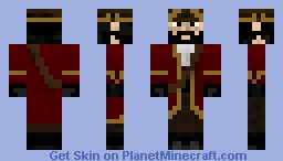 Black Beard Minecraft Skin