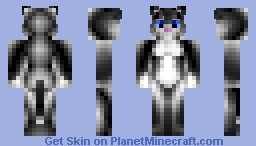Kitty Softpaws Minecraft Skin