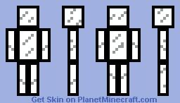 Black Glass Minecraft Skin