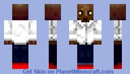 stoned black guy (no racism intended) Minecraft Skin