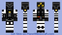 BlackWatch Commanding Officer Minecraft Skin