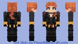 Black Widow Minecraft Skin