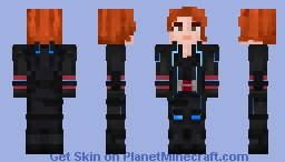 Black Widow | MCU | Age of Ultron Minecraft Skin