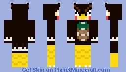 Blathers Owl - Animal Crossing Minecraft Skin
