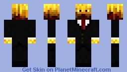 Mr. Blaze Minecraft Skin