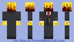 Blazer in a suit Minecraft Skin
