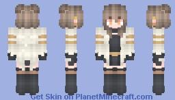 Blcak glod ★☆ Minecraft Skin
