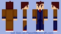 The Tenth Doctor (David Tennant) [Doctor Who] Blocky Style!
