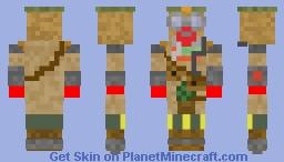 bloodhound Minecraft Skin