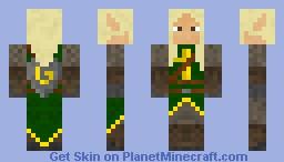 Elven Crusader Minecraft Skin
