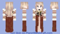 Blondie in a dress Minecraft Skin