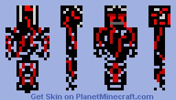 Blood Ghast Minecraft Skin