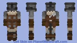 Bloodhunter Armor Minecraft Skin