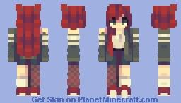 𝙗𝙡𝙤𝙤𝙙𝙨𝙩𝙖𝙞𝙣𝙚𝙙 // rce Minecraft Skin