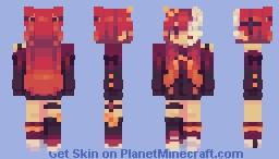 🩸𝐵𝓁𝑜𝑜𝒹𝓎 𝑀𝑜𝑜𝓃🌙 Minecraft Skin