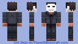 Michael Myers -- Commission Minecraft Skin