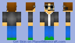 """Cool guy"" (( Skin for bloxxer0704)) Minecraft Skin"