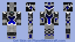 Knight of the Core Minecraft Skin