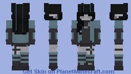 Feeling Blue.:*☆ Minecraft Skin