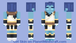 Request ~ Pelagos (World of Warcraft)⚔ Minecraft Skin
