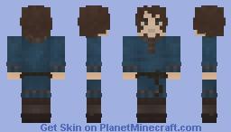 Viking Blue Tunic [Reworked] Minecraft Skin
