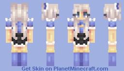⁎❀⁎𝓑𝓵𝓾𝓮-𝓑𝓮𝓵𝓵𝓮⁎❀⁎ Minecraft Skin