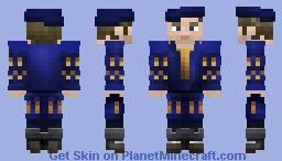 Blue Tudor Minecraft Skin