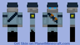 MANN VS MACHINE TF2 Soldier robot model! the only one in existance!!! 3D helmet and 3D moving jaw, looks better in 3D!!!!!!! Minecraft Skin