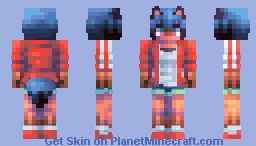 Michiru Kagemori Minecraft Skin